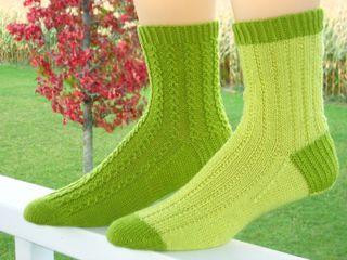 Both Green Socks