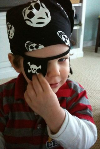 James as Pirate