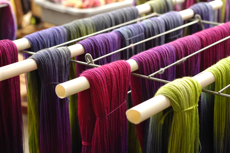 Skeins Drying