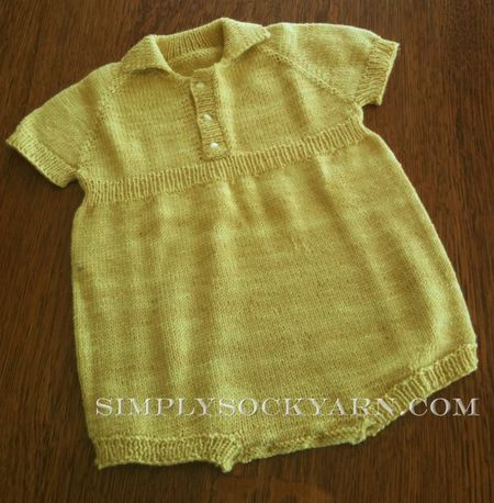 Champagne Juniper Onesie from Shibui