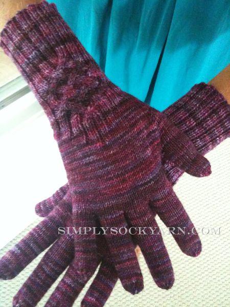 It's a Sparkler DIC Cashmere Knotty Gloves