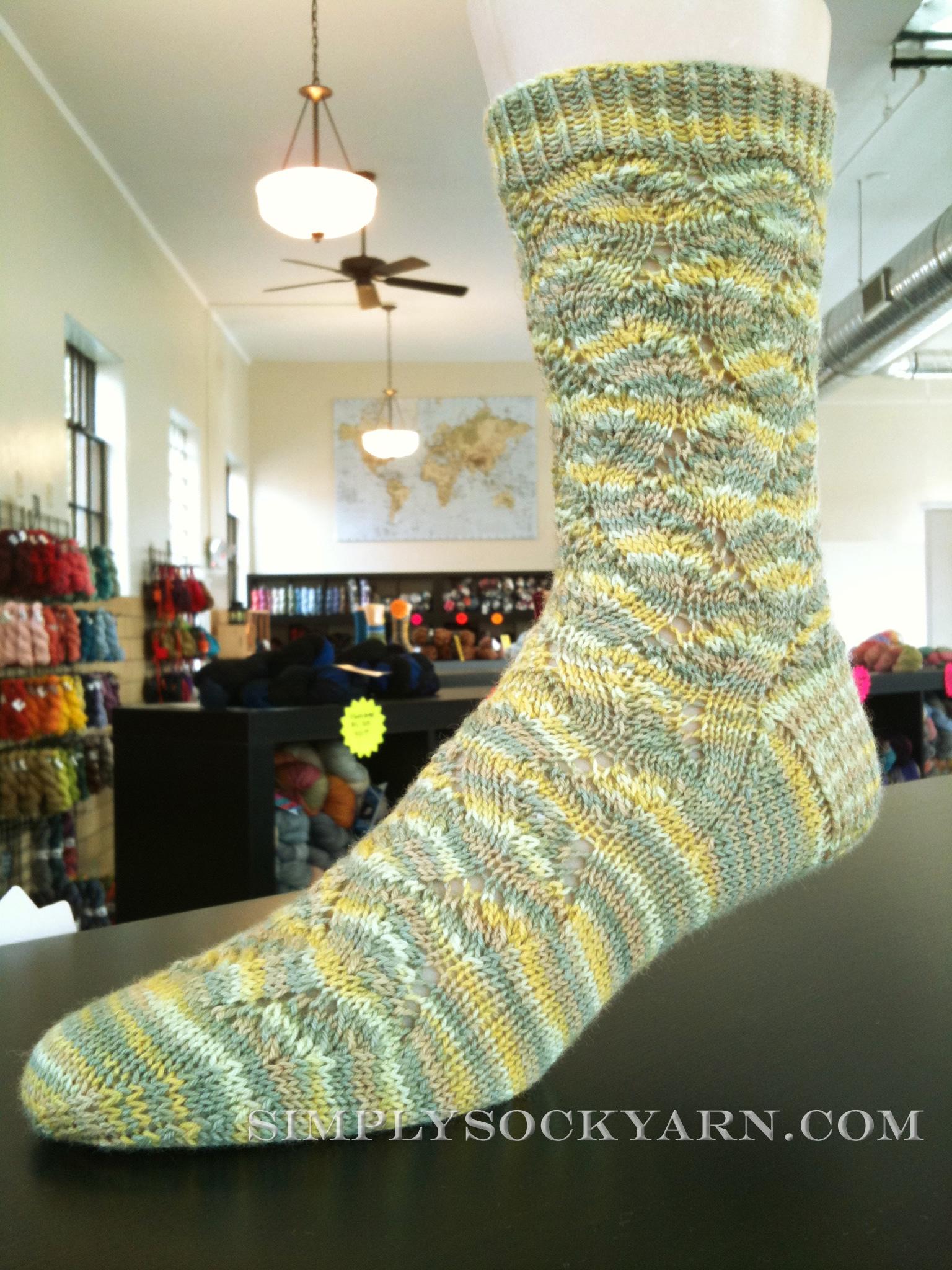Simply Socks Yarn Co. Blog: SSYC Sample Knits- Lorna\'s Laces ...