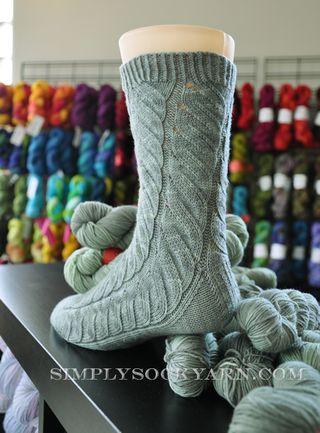 Alchemy Vintage Jade Sock