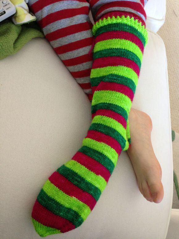 Unfinished socks
