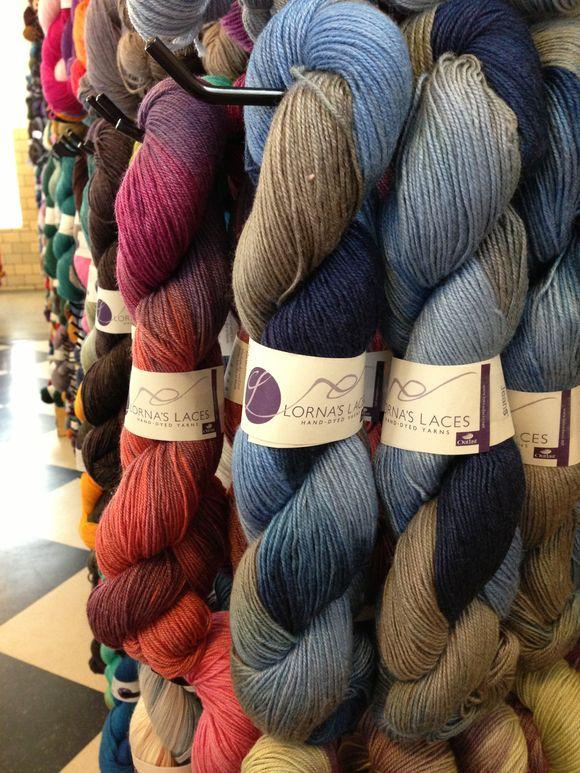 Cascade Heritage & Lorna's Laces