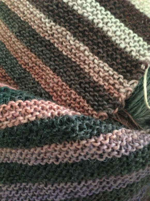 Weekend knitting picture post