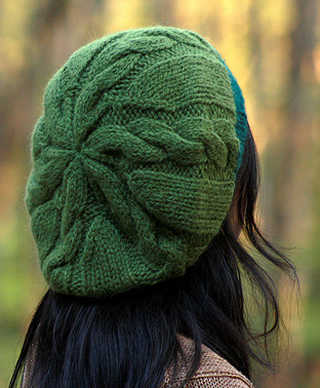 SlouchyCableHat