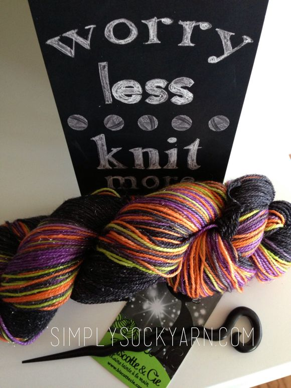 Preview of the SSYC Halloween Sock Kit