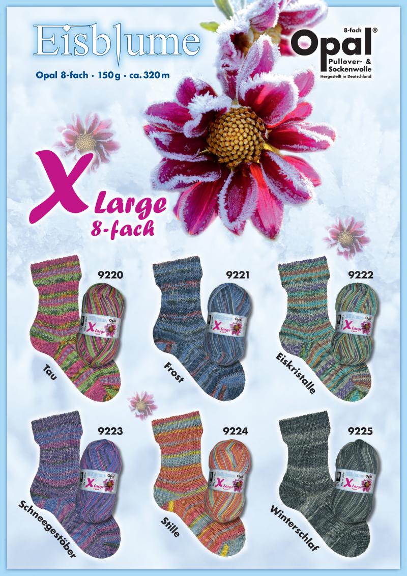 XLarge Eisblume 8-fach