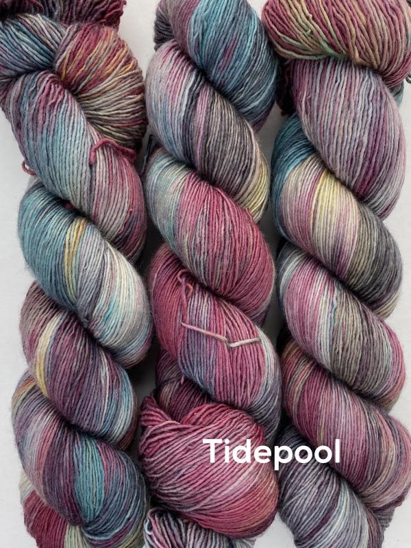 Life in the Long Grass DK yarn in colour Aquarium